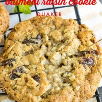 Quaker Oats Oatmeal Raisin Cookie Recipe